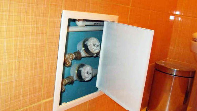 Смотровой люк для проверки водосчётчиков