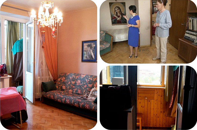 Интерьер квартиры был выполнен в классическом стиле