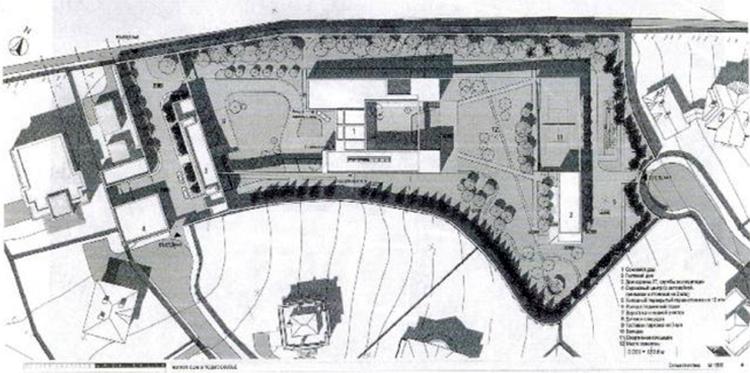 План резиденции Анатолия Чубайса
