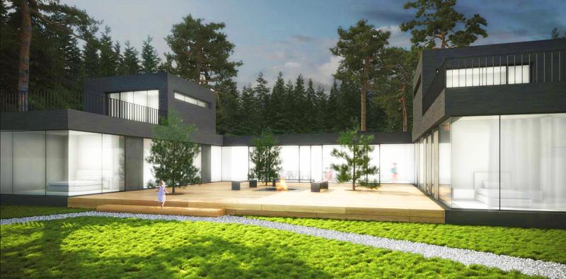 Дизайн-проект уникального дома