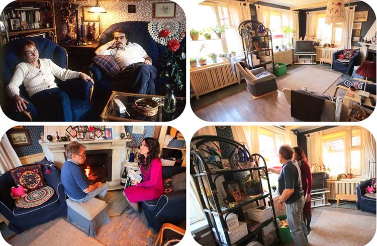 Мебель украшают вязаные кружевные салфетки и декоративные подушки