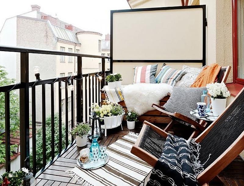 Беспорядок на балконе