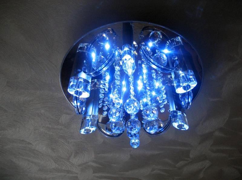 Вариант светодиодной люстры